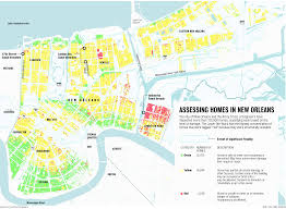 Map New Orleans by Map Of New Orleans Home Damage Nola Indymedia