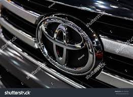 logo toyota fortuner bangkok december 8 logo toyota car stock photo 541194763