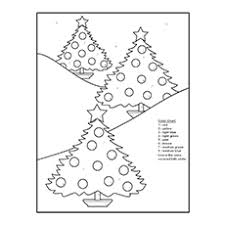 10 free printable color number coloring pages