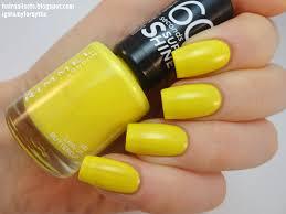 30 yellow nail polish guaranteed to cheer you up nail design ideaz