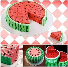 cake diy how to diy watermelon cake