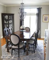 Window Treatments For Dining Room Dining Room Reveal Sincerely Sara D