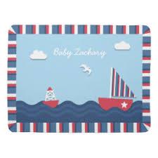 Nautical Theme by Nautical Theme Baby Blankets Zazzle
