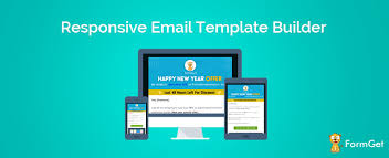 responsive email template builder build the perfect email mailget