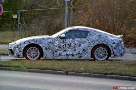 toyota supra 2016 2018 toyota supra latest spy shots with production body gtspirit