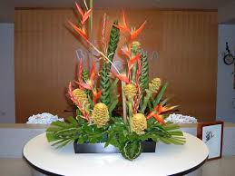 tropical flower arrangements experience hawaii enjoy honolulu festival tropical flower
