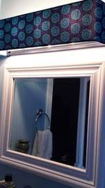 l shades for bathroom fixtures diy vanity light shade dowel rods and a curtain sheer glued and