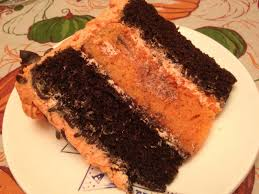 Chocolate Orange Halloween Cake Vegan Crunk October 2012