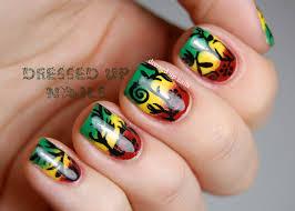 rasta nails design choice image nail art designs