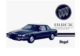 1993 buick regal owners manual just give me the damn manual