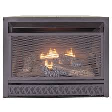 duluth forge dual fuel ventless fireplace insert 15 000 btu t