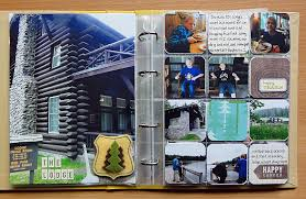 8x10 Album Midwest Scrapgarden Vacation Album Pocket Pages