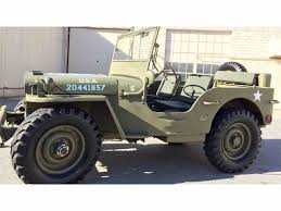 ford military jeep 1950 ford gpw for sale classiccars com cc 895675