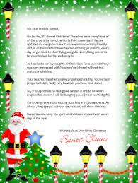 free printable letter santa designs choose