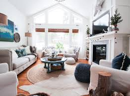 Winter Room Decorations - friday u0027s finds swing arm floor lamps and our winter living room