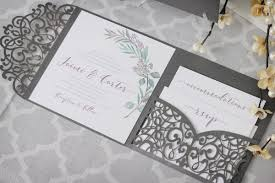 wedding invitations toronto olive branch tuscan wedding invitations with laser cut enclosure