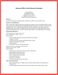 general office clerk resume example free download vinodomia