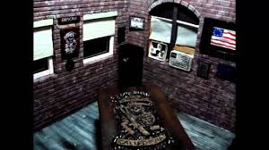 Sons Of Anarchy Meeting Table Sons Of Anarchy Diorama Clubhouse Meeting Room