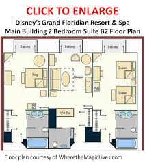 grand floridian 2 bedroom suite floor plan u2013 home plans ideas