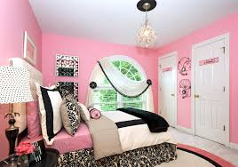 bright diy bedroom decor for women in bright pink and black lace