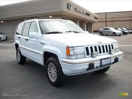 white jeep grand cherokee 1995 stone white jeep grand cherokee limited 4x4 29097767