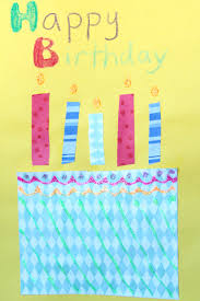 kids making birthday cards how to make a birthday card for kid