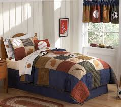 Sports Themed Duvet Covers Pem America Classic Sports Quilt With Pillow Sham