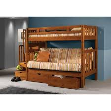Donco Bunk Bed Donco Futon Mission Stairway Honey Bunk Bed