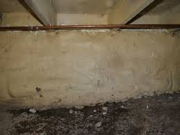 Spray Foam Insulation For Basement Walls by Crawl Space Vapor Barrier And Ecapsulation
