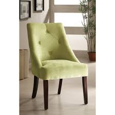 Microsuede Dining Chairs Furniture Of America Apple Green Aura Leisure Microfiber Dining