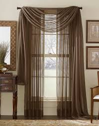 Living Room Curtains With Valance by Voile Cafe Curtains Scarf Valance Curtains Valance For Living Room