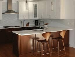 White Wood Bar Stool Modern Smooth Wooden Bar Stool Fancy Stainless Steel Utensils