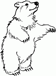brown bears coloring pages cute bear cub pictures teddy animal