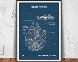 Star Wars Bedrooms by Star Wars Decor Etsy