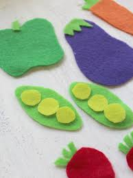 Garden Crafts For Children - diy no sew frugal felt garden craft for kids the homespun hydrangea