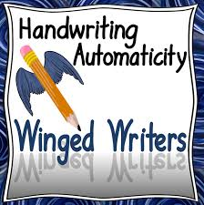 handwriting bundle hwt style font your therapy source