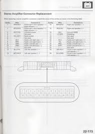 2003 acura cl type s stereo wiring diagram acurazine acura