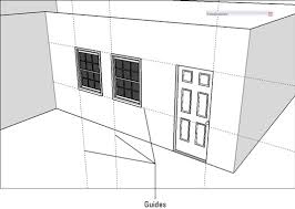 How To Make A Floor Plan In Google Sketchup by How To Insert Doors And Windows In Google Sketchup 8 Dummies