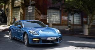 Porsche Panamera 2017 U2013 First Official Images Only Cars And Cars
