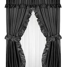 ruffled curtains archives window decor and more
