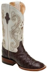 womens square toe boots size 12 ferrini cowboy boots prints made from high grade leather