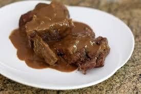 slow cooker round steak with gravy recipe