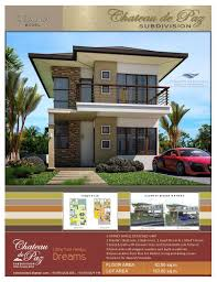 diana model a modern asian architectural designed 2 storey pure house