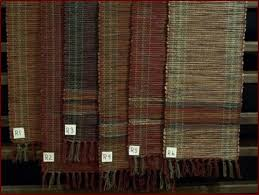 handwoven tablerunners judy robinson s country textiles