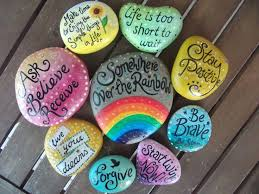 562 best words on stones images on pinterest rock painting