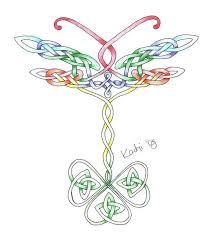 41 celtic dragonfly tattoo ideas