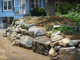 26 best boulder walls images on pinterest boulder retaining wall