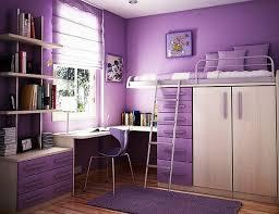 jugendzimmer für mädchen jugendzimmer mädchen lila wandgestaltung stockbett schreibtisch