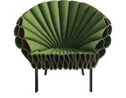 Green Armchairs Peacock Chair Hivemodern Com