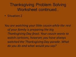 thanksgiving social skills what social skills do we to use